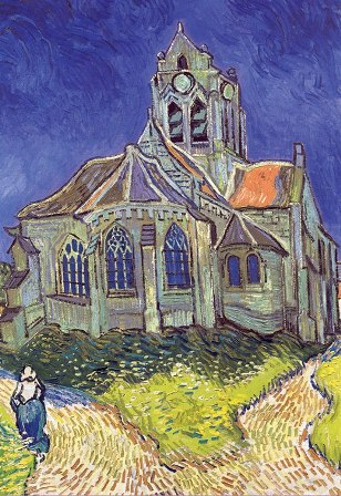 1500 The Church at Auvers-Sur-Oise Big