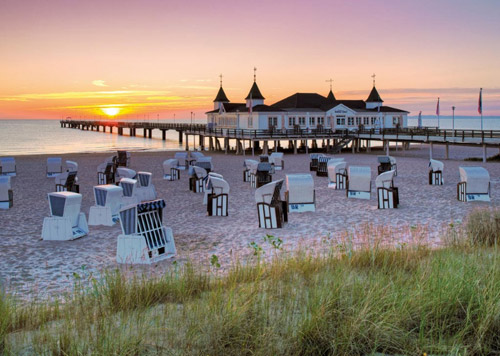 پازل ۱۰۰۰ تکه Baltic Sea Resort of Ahlbeck