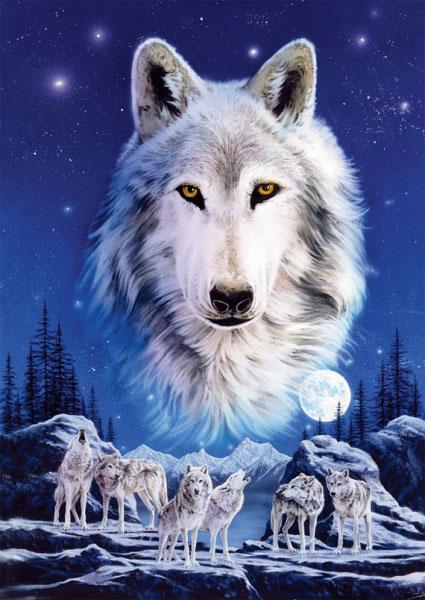 پازل ۱۵۰۰ تکه گرگ ِ شب