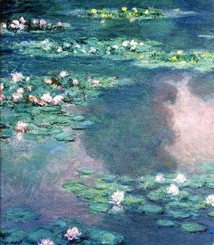 پازل گل های آبی مونت
