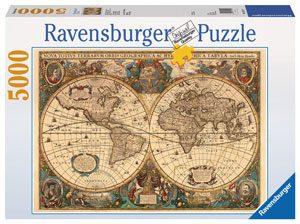نقشه قدیمی جهان