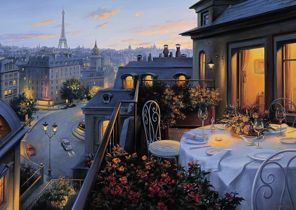 بالکن در پاریس