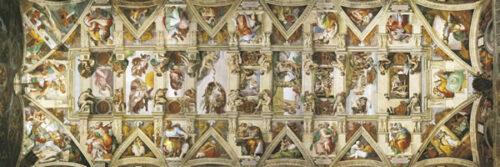 clementoni Sistine Chapel ceiling panorama