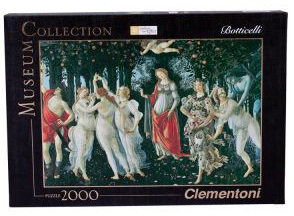 Clementoni Botticelli: The Spring 2000-Piece Puzzle