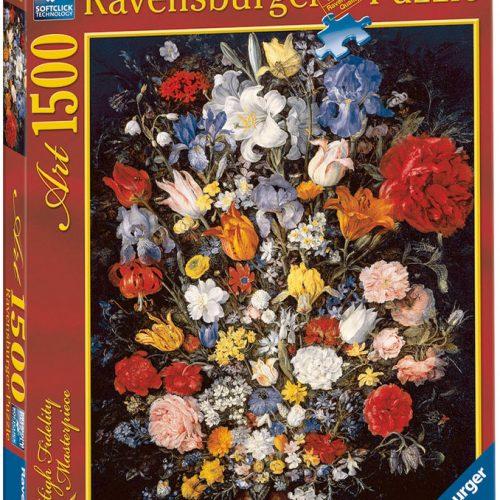 دسته گل پازل 1500 تکه