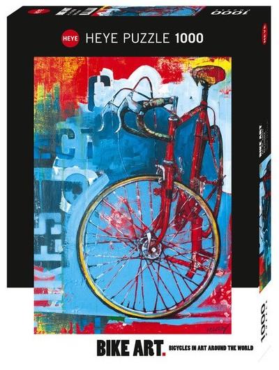 پازل هنری دوچرخه 1000 تکه