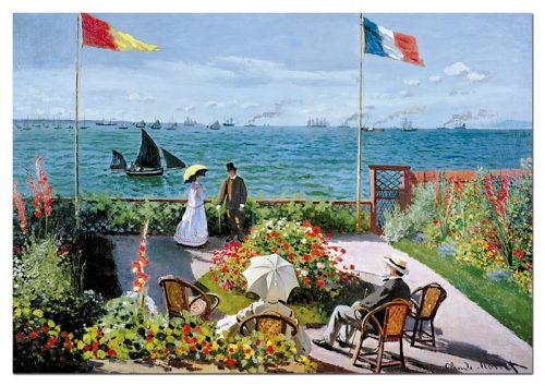 پازل ۲۰۰۰ تکه The Terrace at Sainte-Adresse