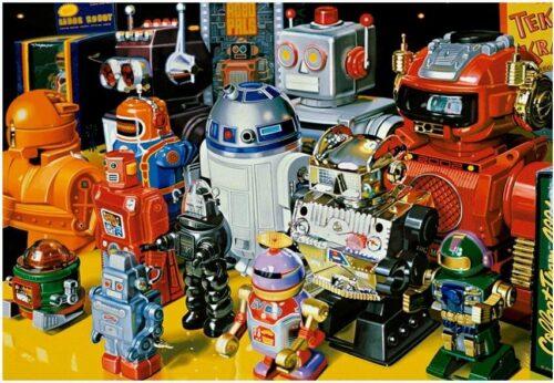 پازل ربات ها ادوکا educa