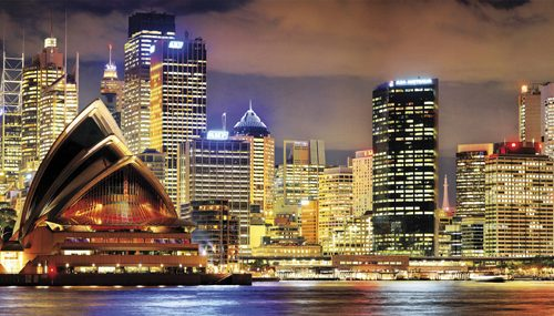 پازل ۱۰۰۰ تکه پانوراما Sydney at Night