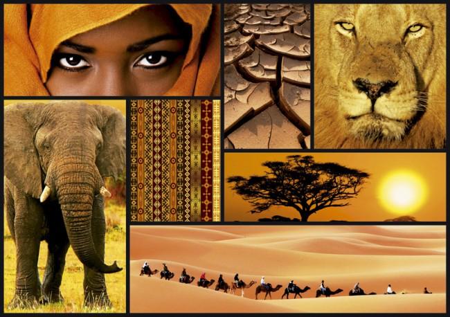 پازل آفریقا