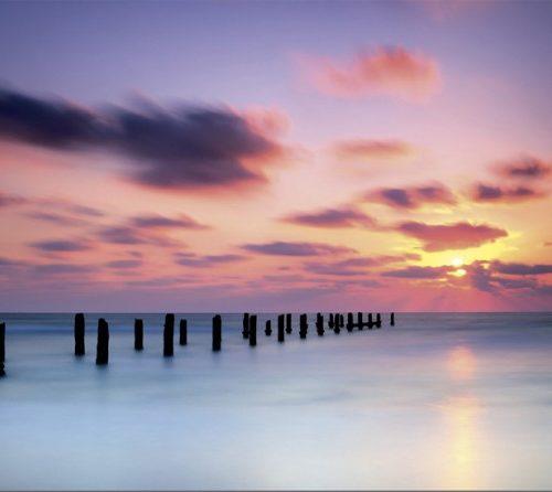 ساحل غروب پازل