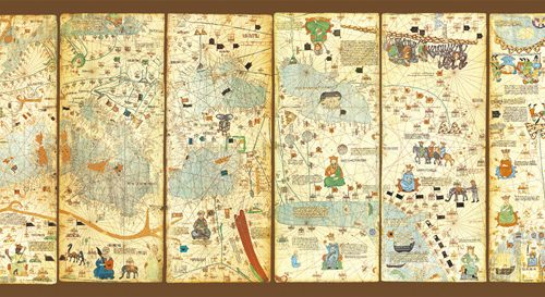 پازل ۳۰۰۰ تکه Mappa Mundi 1375