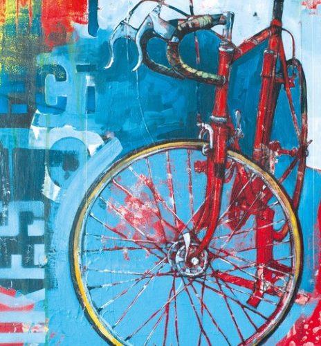 پازل هنری دوچرخه 1000 تکه heye