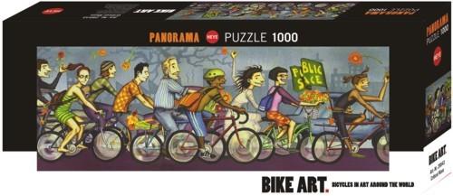 دوچرخه پازل 1000 تکه
