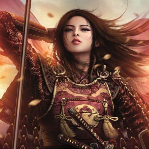 پازل زن جنگجو