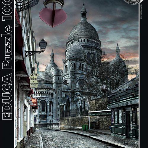 پازل پاریس سیاه و سفید