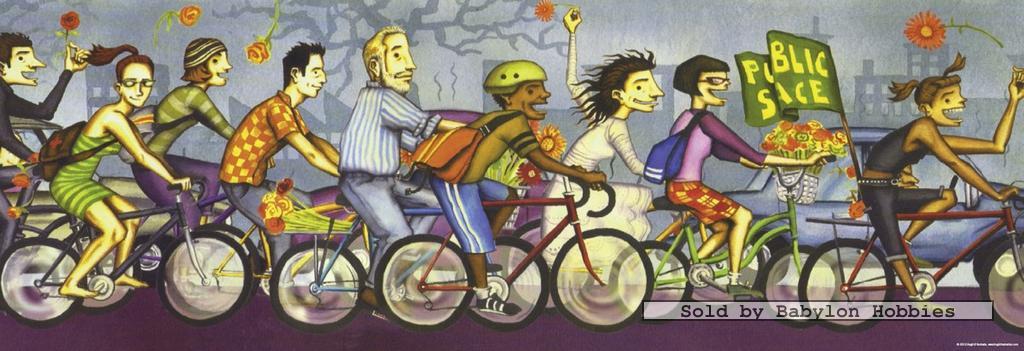 دوچرخه پازل 1000 تکه  پانوراما