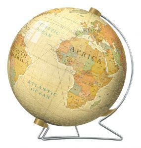 Vintage Globe 3D Puzzle, 540pc back