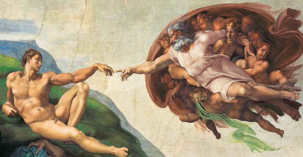 creation of adam 13200 clementoni
