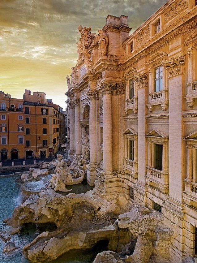 پازل ۱۵۰۰ تکه Trevi Brunnen , Rom