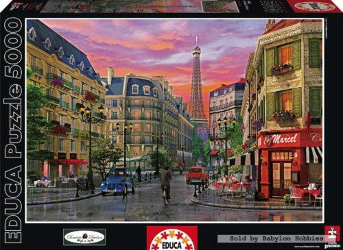 پازل ۵۰۰۰ تکه پاریس