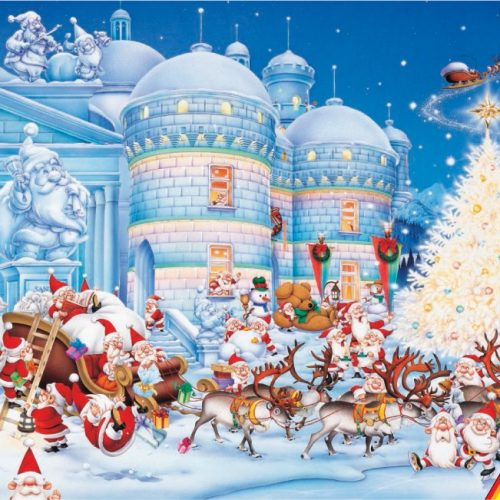 پازل کریسمس
