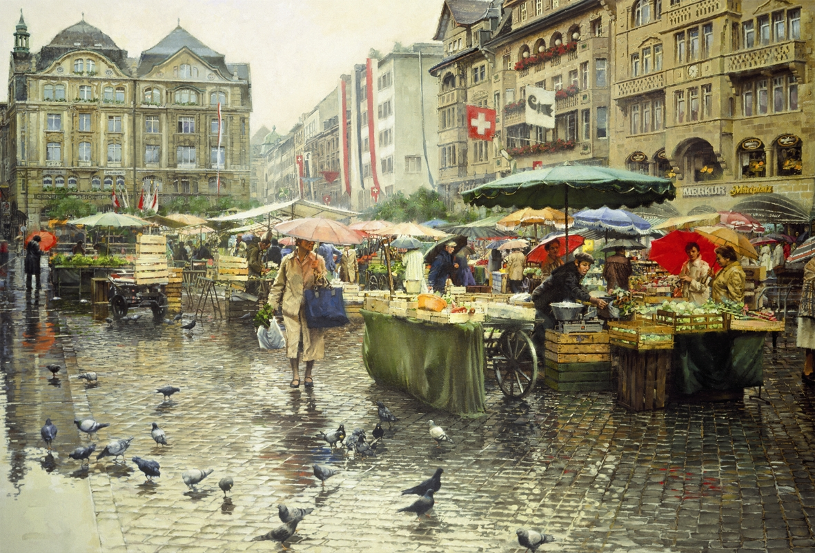 Produce Market – Basel
