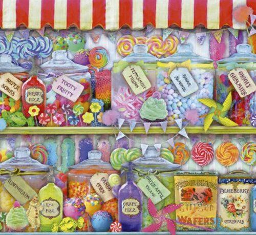 پازل ۱۰۰۰ تکه Candy Shop