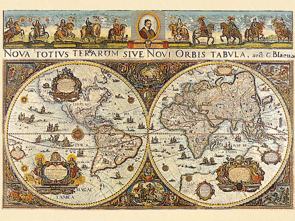 پازل ۳۰۰۰ تکه World Map 1664