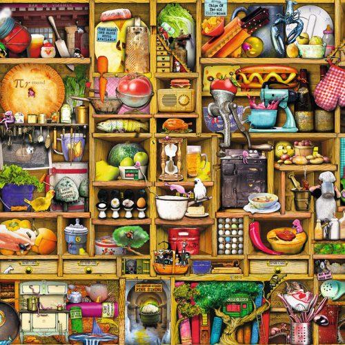 پازل ۱۰۰۰ تکه Kitchen Cupboard