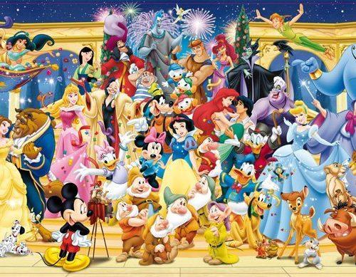 پازل ۱۰۰۰ تکه Disney Group Photo