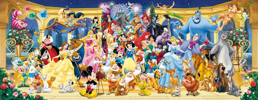 پازل ۱۰۰۰ تکه Disney Group Photo