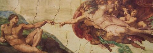 پازل ۷۵۰ تکه Creation of Adam by Michelangelo