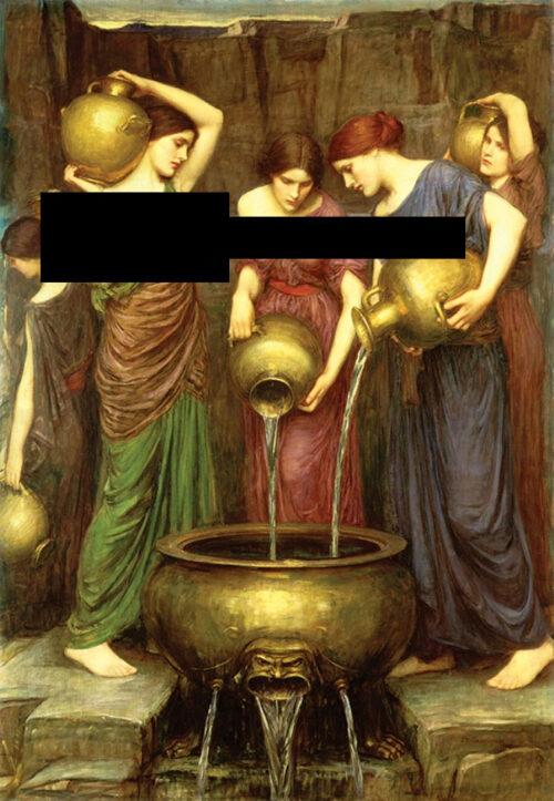 پازل ۲۰۰۰ تکه دختران دانائوس Danaus's daughters