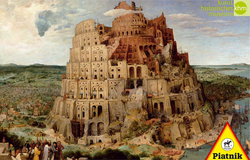 پازل ۱۰۰۰ تکه Tower of Babel