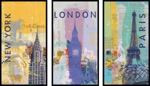 پازل ۱۵۰۰ تکه ۳x500 Travel around the world