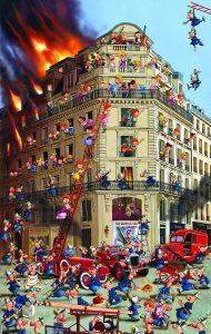 پازل ۱۰۰۰ تکه Fire Brigade