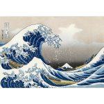 پازل ۱۰۰۰ تکه موج بزرگ کاناگاوا اثر هوکوسای