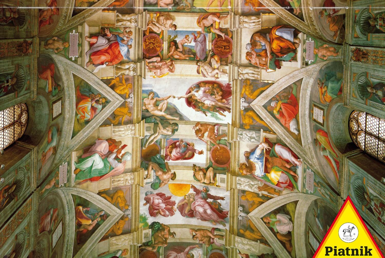 پازل ۱۰۰۰ تکه Sistine Chapel