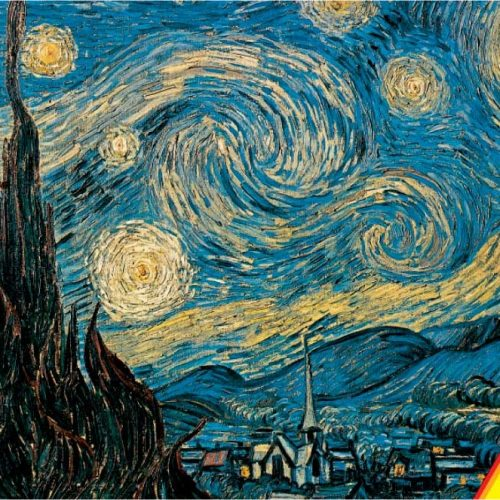پازل ۱۰۰۰ تکه Starry Night