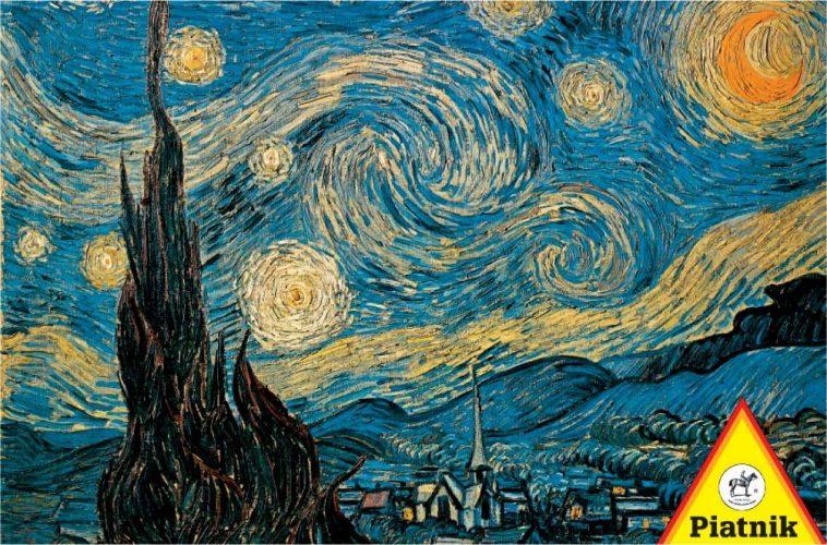 پازل ۱۰۰۰ تکه Starry Night