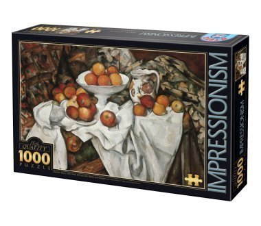 پازل ۱۰۰۰ تکه Still Life with Apples and Orange