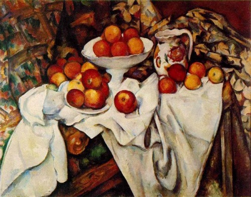 پازل ۱۰۰۰ تکه Still Life with Apples and Orange