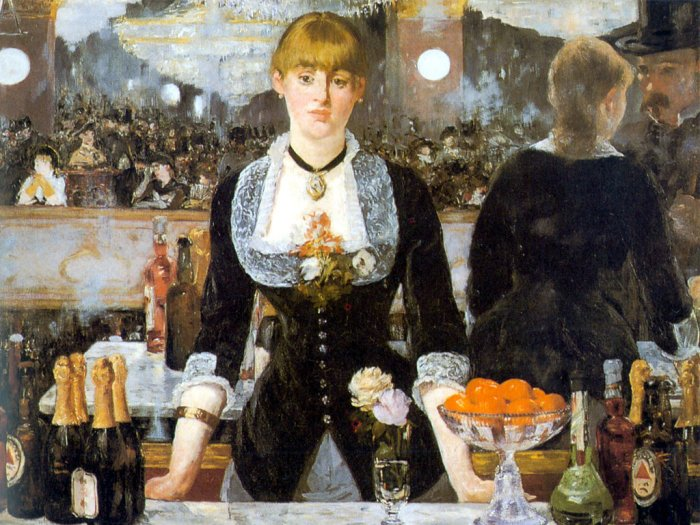پازل manet-edouard-un-bar-aux-folies مانه