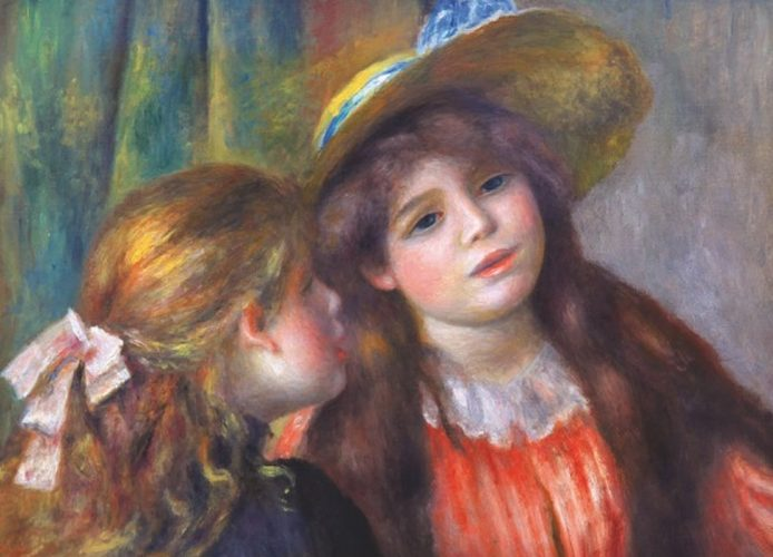 پازل ۱۰۰۰ تکه Portrait of Two Girls