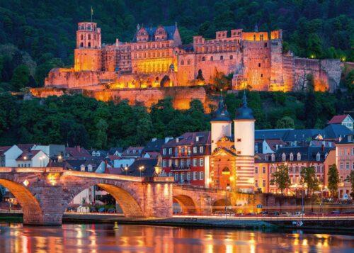 پازل ۱۰۰۰ تکه Heidelberg in the evening