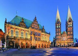 پازل ۱۰۰۰ تکه Bremen: View Town Hall
