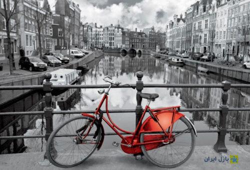 پازل ۳۰۰۰ تکه Amsterdam جداسازی