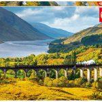 پازل ۱۰۰۰ تکه خط آهن گلنفینان – اسکاتلند اثر آلن کاپسان