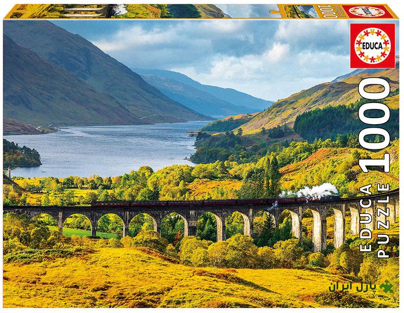 قطاری در اسکاتلند
